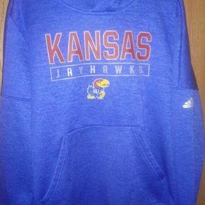 Adidas Kansas Jayhawks Hoodie